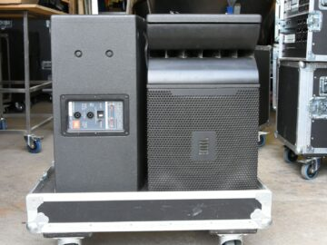 JBL VRX900 system on Gearwise