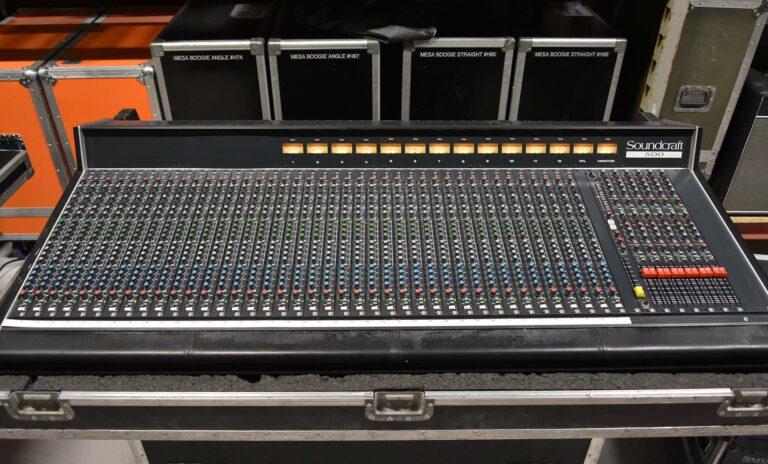 Soundcraft 500 Monitor