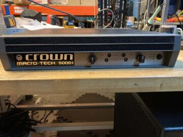 CROWN Macro-Tech 5000i
