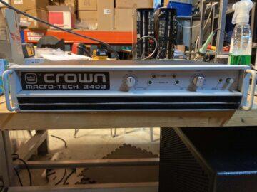 Crown Macro-Tech 2402