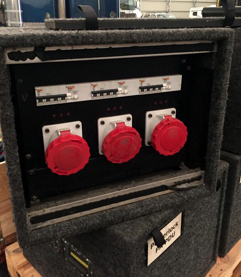 Power distro 400A/63A