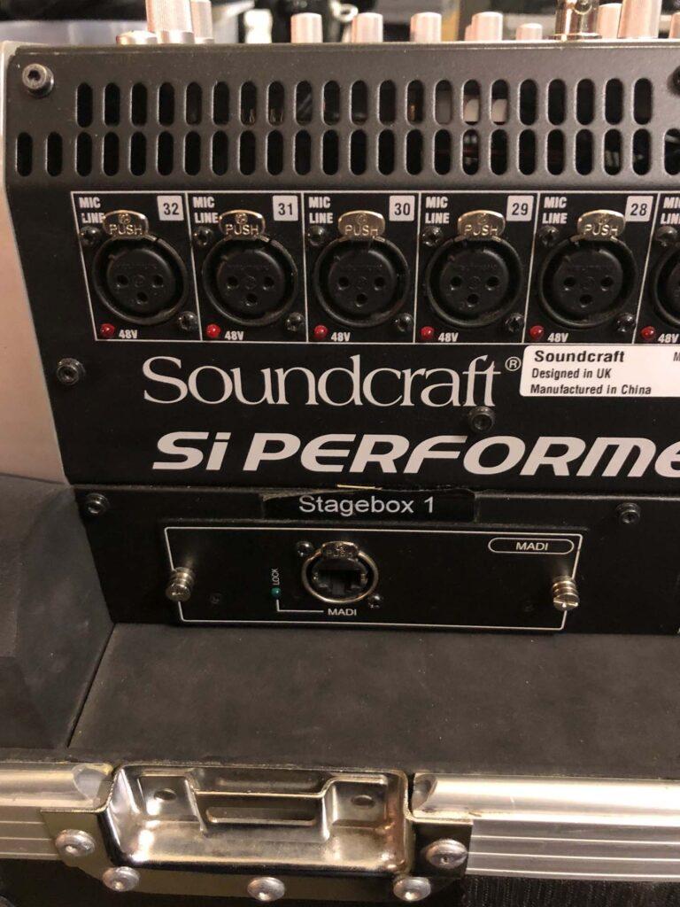 Soundcraft Si Performer 3