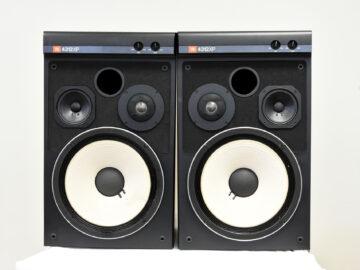 JBL 4312XP studio monitor pair