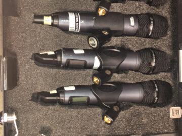 Sennheiser EW300 Wireless mics