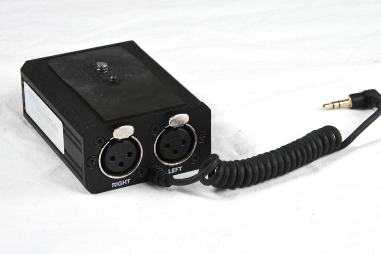 Canon HV20 HD Mic preamp