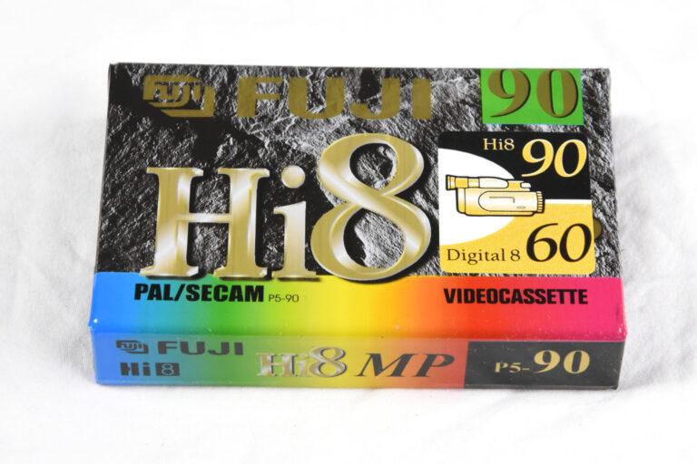 Fuji Hi8 Tape New