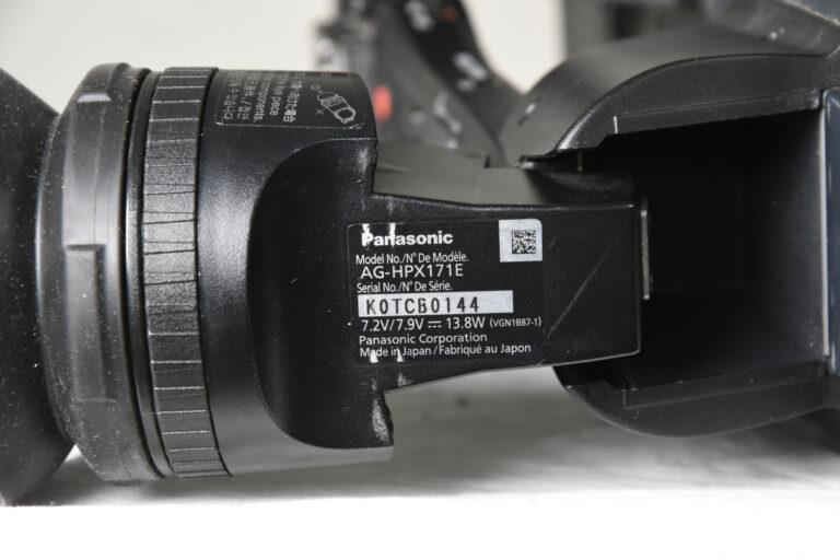 Panasonic AG-HPX171E HD Camera