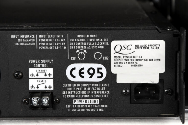 QSC Powerlight 1.4