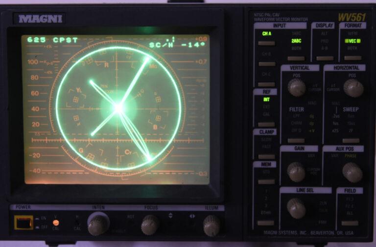Magni WV561 Vectorscope