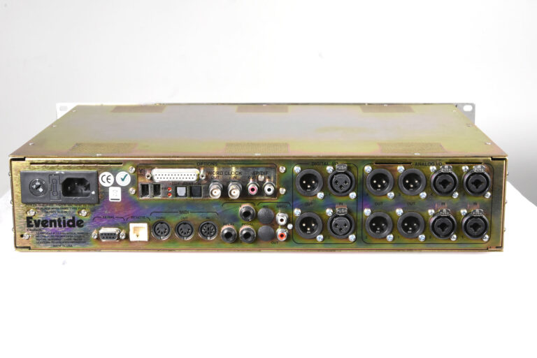 Eventide H8000fw rear view