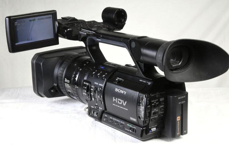 Used Sony HVR-Z1E HD Camera with acessories