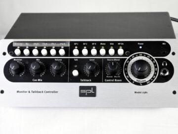 SPL 2381 Monitor Talkback controller