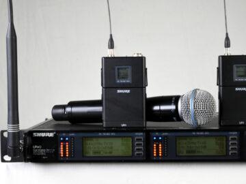 Shure UHF-R UR4D R9 System