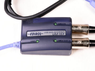 Edirol UM-1SX USB MIDI Interface