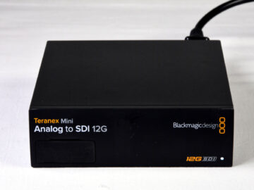 Blackmagic Design Teranex Mini Analog to SDI