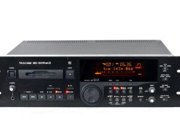 Tascam-MD-801R MKII Minidisc recorder