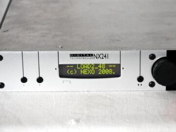 Nexo NX241 Speaker Processor
