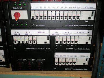 Connex UV 63A PDU 32A 16A Out